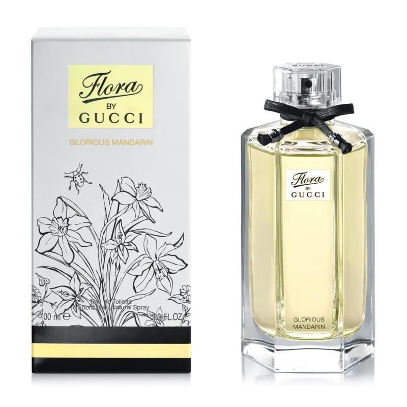 Туалетная вода Gucci Flora By Gucci Glorious Mandarin (100ml)