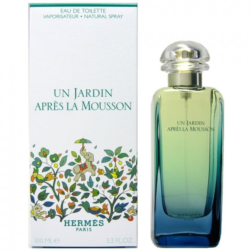 унисекс духи Hermes Un Jardin Apres Le Mousson туалетная вода