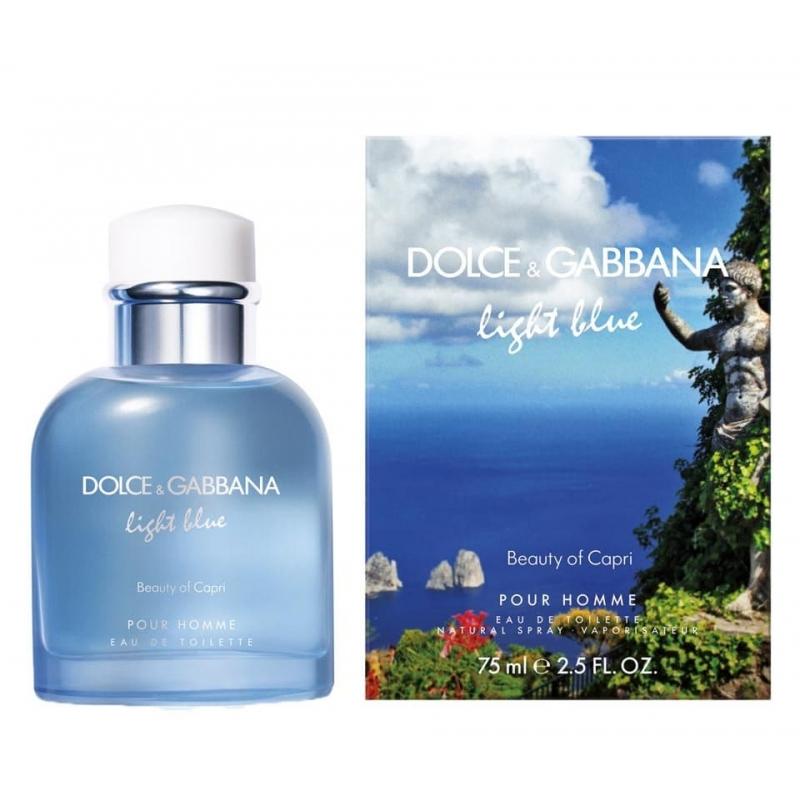 Туалетная вода Dolce & Gabbana Light Blue Pour Homme Beauty of Capri (125ml)