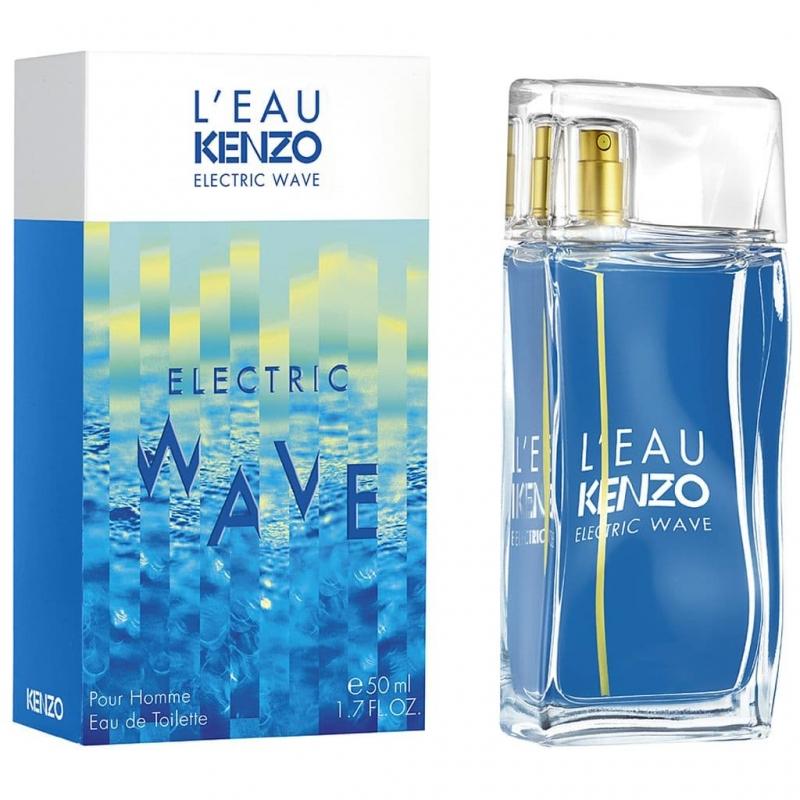 Туалетная вода Kenzo L'eau par Kenzo Electric Wave pour Homme